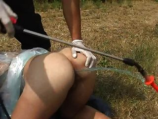 Outdoor Extreme Enema Training