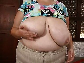 Mom & Her Massive Huge Saggy Boobs