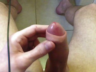 Moaning Heavily As I Edge My Swollen Cock To Cum