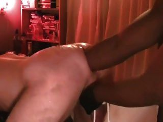 Getting My Bruised Ass Fisted By A Black Buddy