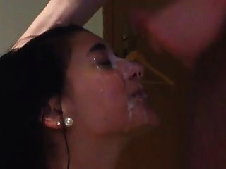 Cum Facial On My Girl!!!!