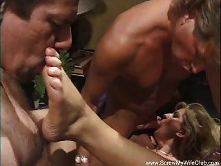 Swinger Wife Gets Used For Sex