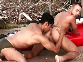 Fucking On The Beach With Big Cock