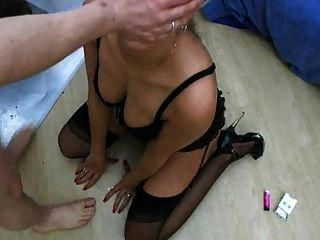 German Chick Gets Her Throat Fucked Good Dtd