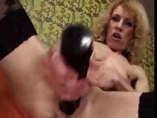 Hot Granny And Her Toys. Fisting By Young Girl