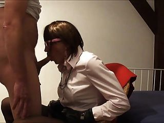 Renate Gets Face Fucked And Cum Dumped!