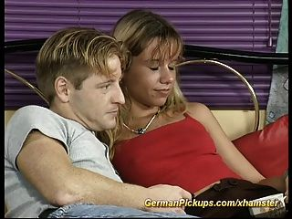 Pickup Young Couple For The First Sextape