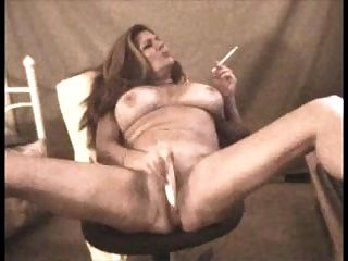 Busty Mature Smoking Vs 120 And Toys Pussy