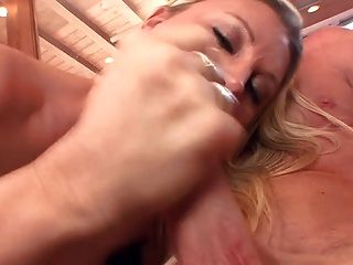 Devon Amazing Tits Milking His Cock With Her Pussy