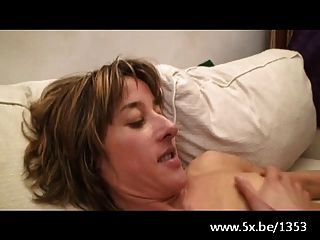 He Watches His Wife Emma Anal Fucked