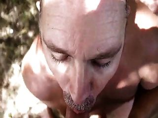 Public Blowjob With Cum On Tongue