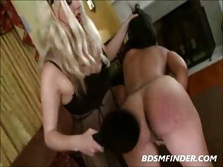 Femdom Lesbian Discipline