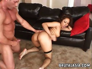 Annie Once Again Gets Her Ass Fucked Deep And Hard