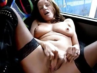Naughty Fun At The Bus Stop