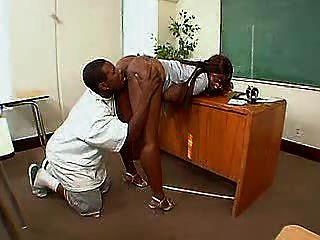 Licking The Teacher