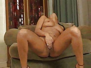 Lovely Lass Plays On A Love Seat  Fm14