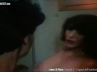 Carmen Di Pietro - Nude From Hot Laps - Rare