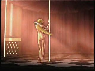 Helena Nude Pole Dance