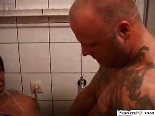 Asian Girl Has A Wild Fuck With A Stud On Steroids