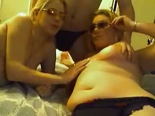 Amateur Blondes In Homemade Video