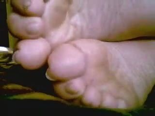 Bbw Goddess Morning Soles  &  Toes Tease