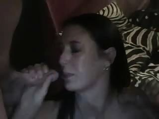 Slut Gives Triple Blowjob By Rb
