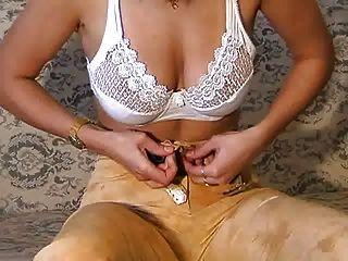Tamara Stripping And Masturbating 3