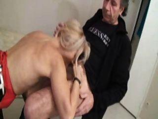 Fabienne Gangbanged In Stockings