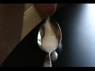 Thick Cum Load Into A Spoon