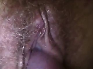 Cum On Hairy Wet Pussy