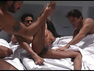 Heather Hunter Fucks 3 Men