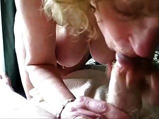 Mature Wife Sucking My Cock