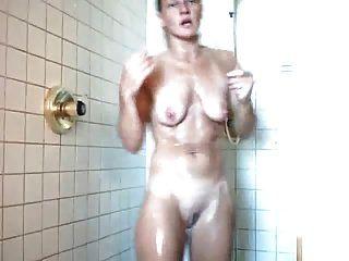 40 Yo Milf Wife In Shower