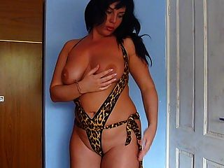 Me Teasing In Sexi Lingerie