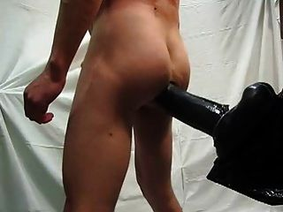 My Ass Full Of Dildo With My Cum