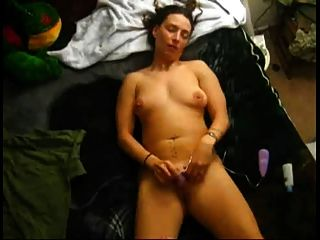 My Chubby Ex Girlfriend Cumming With Her Favorite Sex Toy