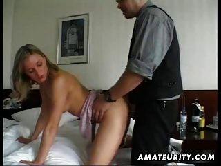 Amateur Girlfriend Homemade Masturbation And Fuck With Cum