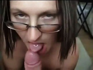 She Rides His Cock And Sucks It
