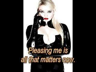 You Will Be Her Slave.