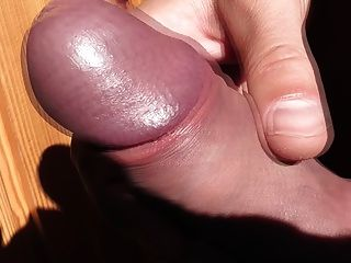 My Cock With Cockring Shooting A Giant Sperm Load
