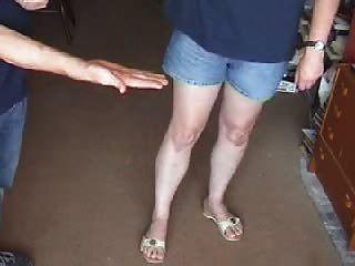 Palm Leather Sandal Spanking