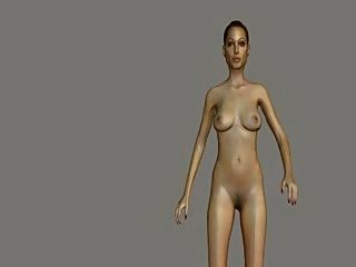 Angelina Jolie Nude Mod