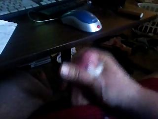 Shootin Thick White Cum Out Of My Fat Cock