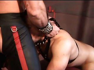 Tober Brandt In Leather!