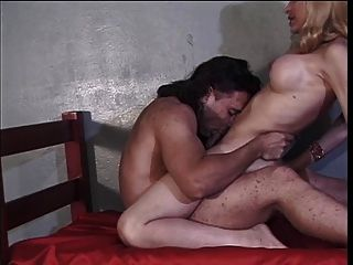 Hot Blonde Tranny With Great Tits Loves Getting Her Cock Sucked And Ass Fucked