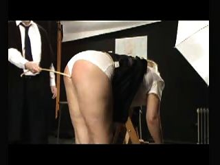 Bdsm Caning - Six Strokes