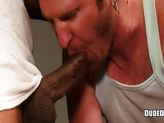White Dude Blowing Black Cock