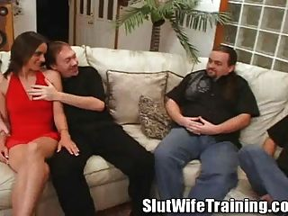 Danica Races Over To Visit The Slut Wife Trainer