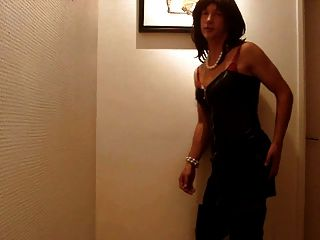 Transvestite Strip At Party