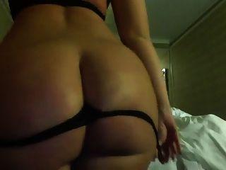 Thick White Butt